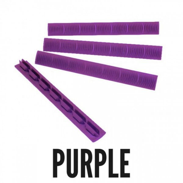 Ergo Wedgelok Keymod Rail Cover 4pack, Purple