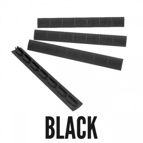 Ergo Wedgelok Keymod Rail Cover 4pack, Black