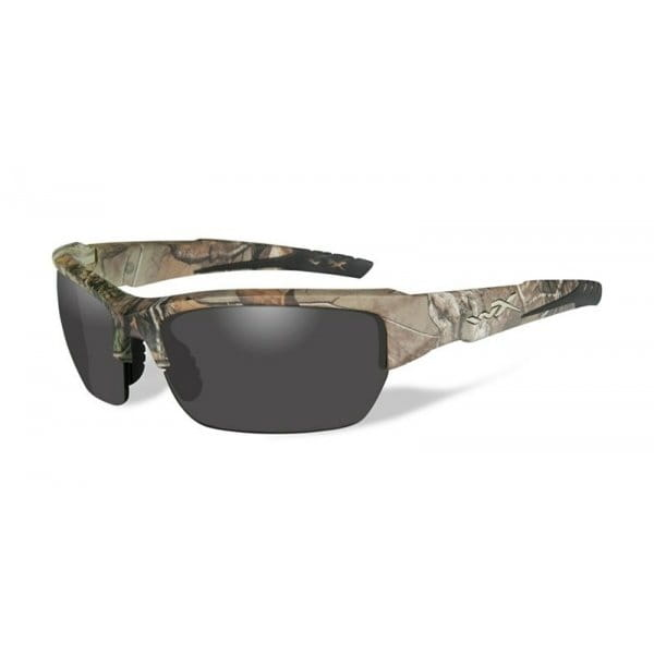 Okulary WileyX VALOR Smoke Grey Lens - Realtree Xtra Camo Frame