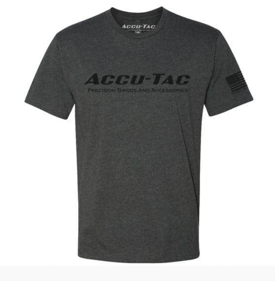 Koszulka / T-Shirt ACCU-TAC  Men's Tee Charcoa Limited Edition - rozmiar - X-Large (Next Level)