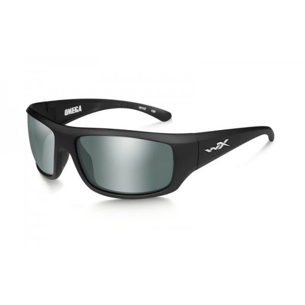 Okulary WX OMEGA Smoke Grey Lens - Matte Black Frame