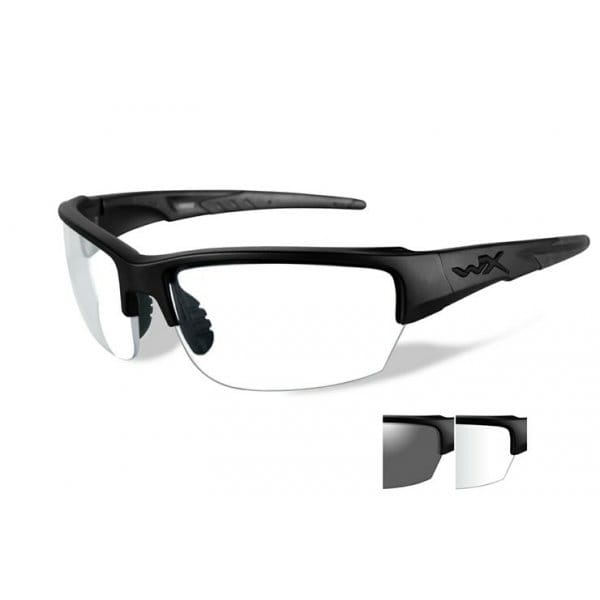 Okulary WX Saint Grey Clear/Light Rust Matte Black Frame