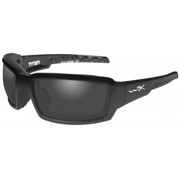 Okulary WX TITAN Smoke Grey Lens - Matte Black Frame