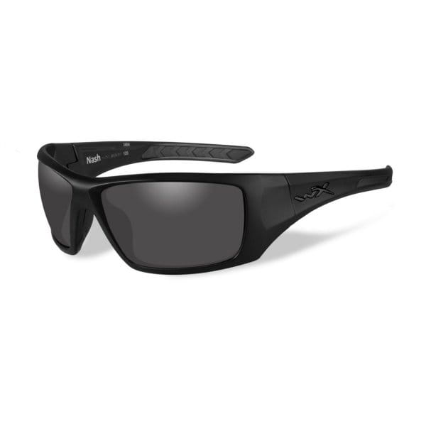 Okulary WX NASH Smoke Grey Lens/Matte Black Frame