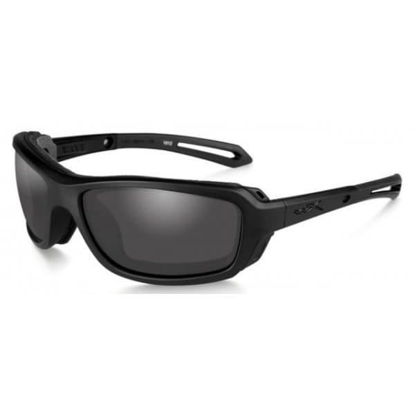 Okulary WX Wave Smoke Grey Lens - Matte Black Frame